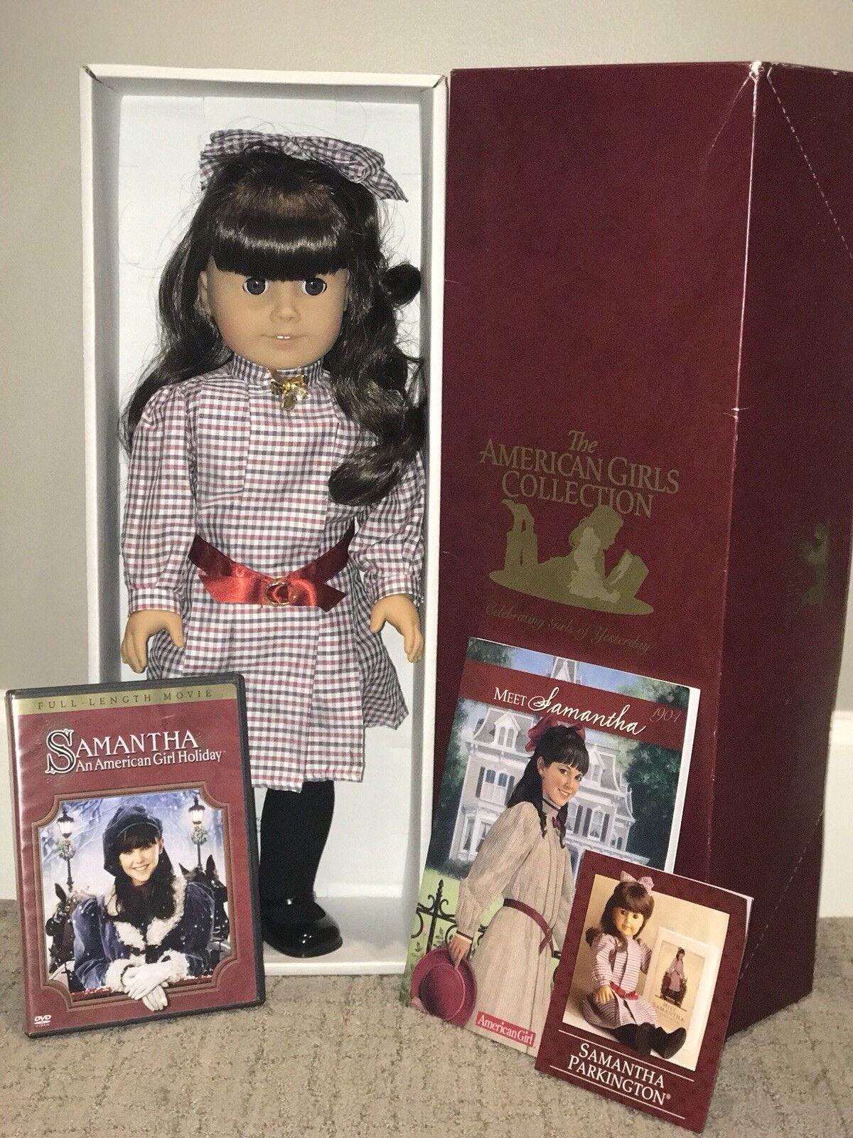 American Girl Doll, Usada, Samantha Parkington, 18 pulgadas