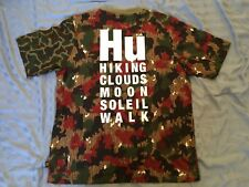 6c15908d0 ADIDAS ORIGINALS X PHARRELL WILLIAMS Camo T Shirt Size L Hu Holi Nmd Human  Race