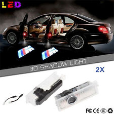 4x LED Car Door Courtesy Laser Projector Logo Ghost Shadow Light For BMW M Sport