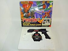 VTG Photon Electronic Phaser Target Shooting Game Laser Gun 1986 Entertech w Box