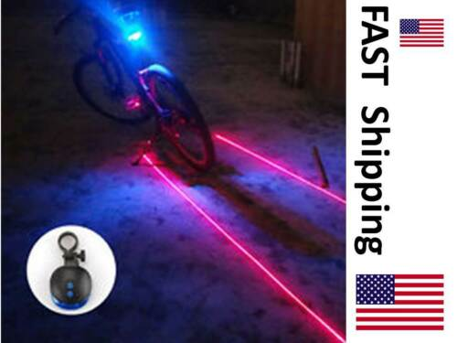 Hommes Femmes Vélo De Montagne Lampe de sécurité Laser Partie Mounts ci-dessous Siège /& au-dessus de pneu