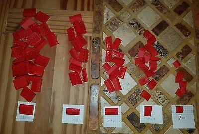 33°-- Rot-- 8 Stück--Dachziegel Lego--3298 Dachstein-Schrägstein 3 x 2