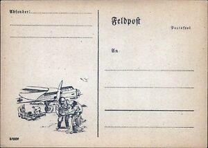 Deutsches-Military-Aircraft-bar-cross-Aviation-Mail-Bildpostkarte-Ak-W-378