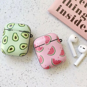 For Apple Airpods Watermelon Avocado Wireless Bluetooth Earphone Case Cover Ebay