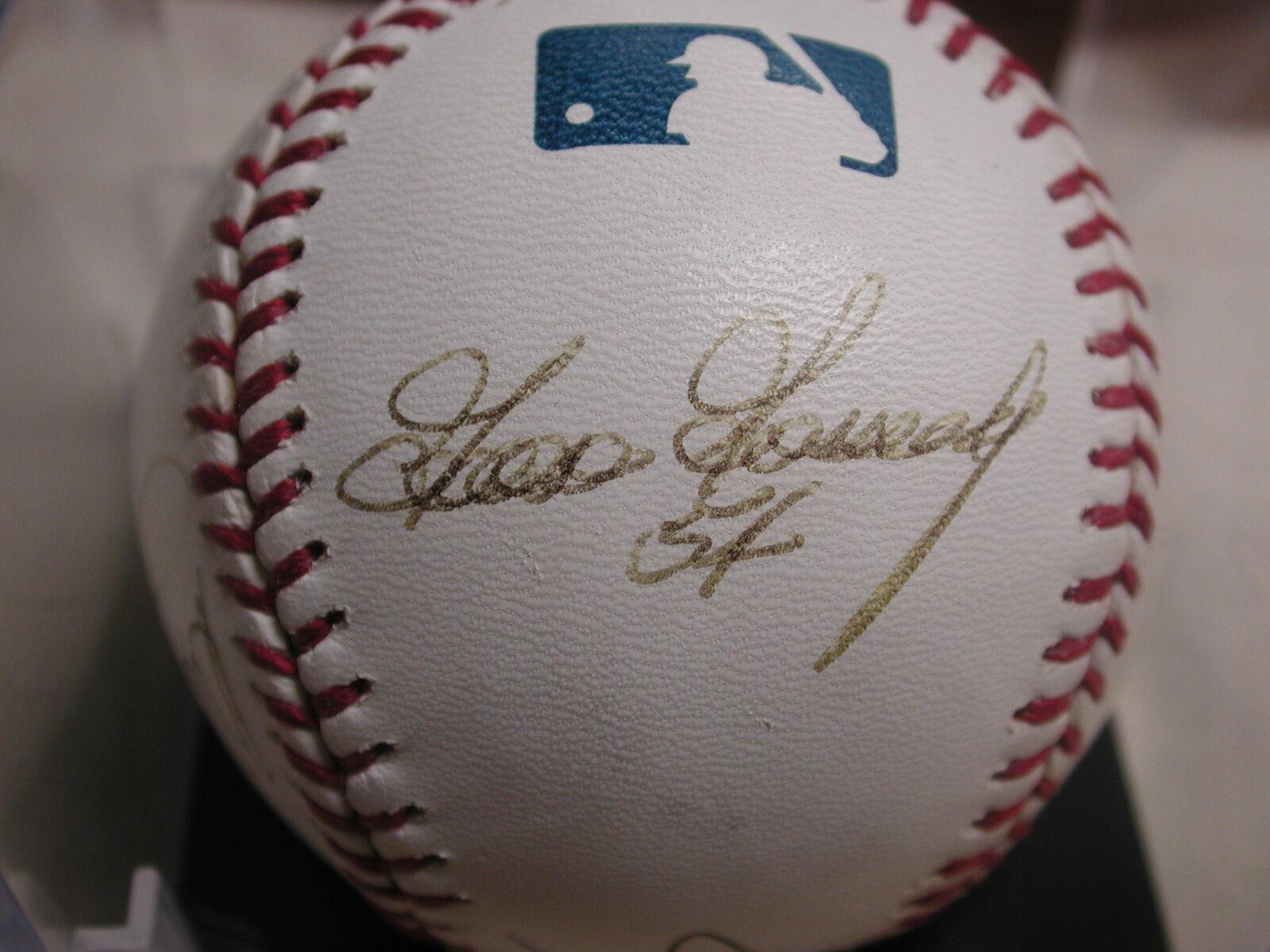 Ganso Gossage, blancoy Ford, Jim Rice, Luis Tiant, Jim Jim Jim Leyritz béisbol firmado aa00c4