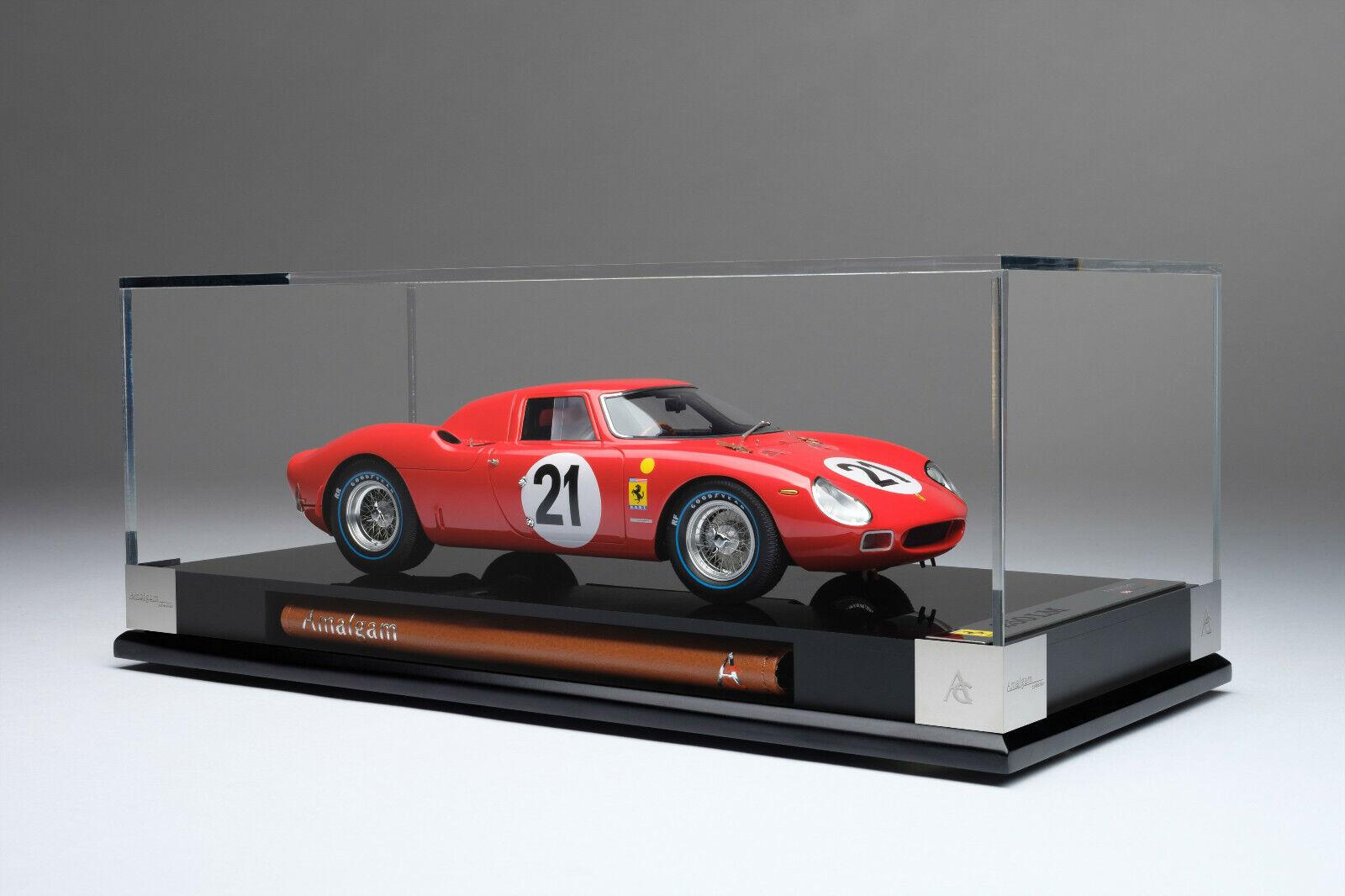 Amalgama Ferrari 250 LM Le Mans Winner 1 18 Escala