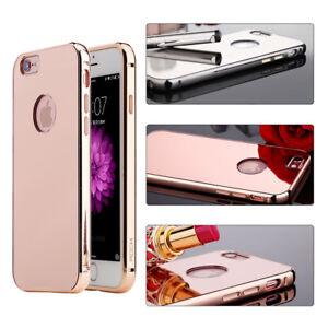 For-Apple-iPhone-6S-Plus-6S-Slim-Frame-Aluminum-Alloy-Bumper-Mirror-Case-Cover