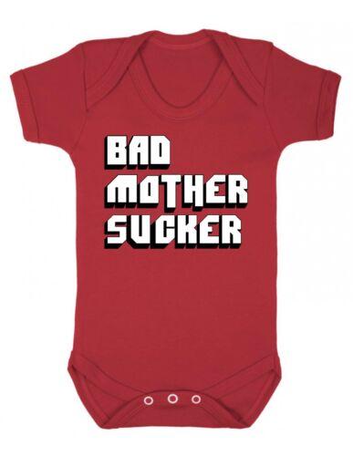 Bad Mother lechón Babygrow-Divertido Bebé Bebés Recién Nacidos Niños Regalo Body grosero