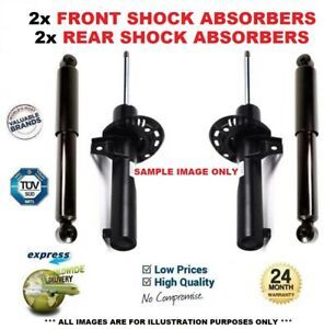FRONT + REAR SHOCK ABSORBERS SET for MERCEDES BENZ C-Class C220 CDI 2003-2007