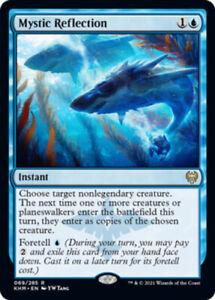 Mystic Reflection - Foil x1 Magic the Gathering 1x Kaldheim mtg card rare blue