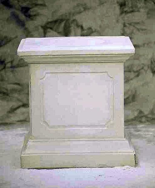 Zócalo, Pilar, descansillo, piedra pilar, pedestal 3012