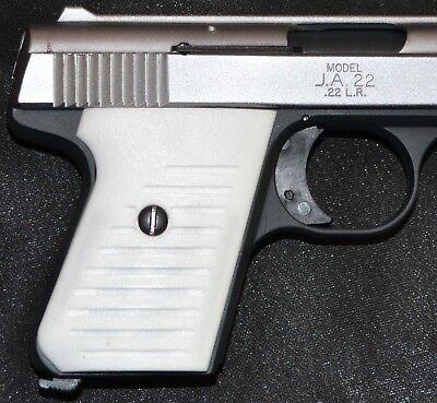 Jimenez JA22 Jennings J22 pistol grips pure white plastic | eBay