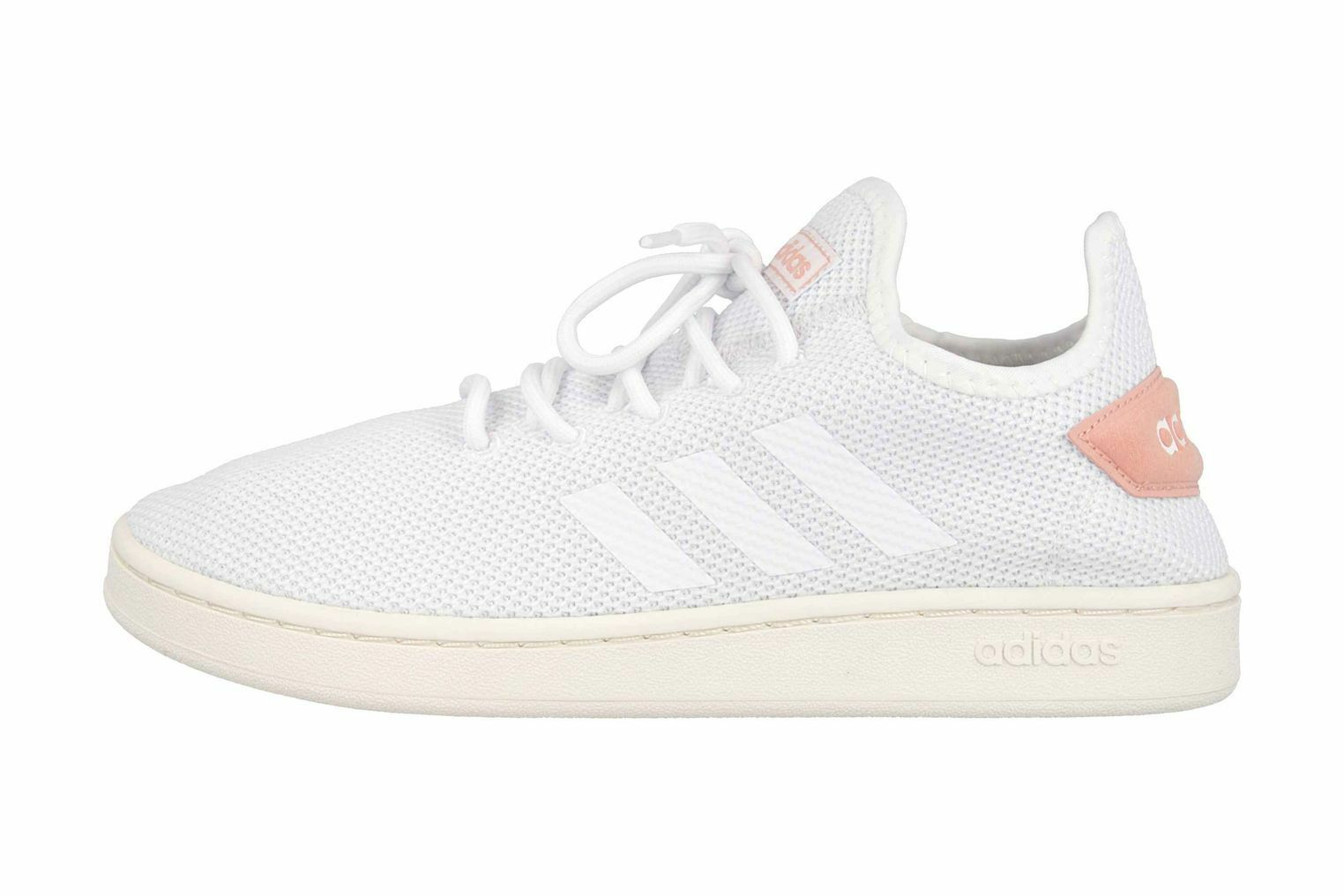 Adidas Court adapt sneaker in oversize white F36476 large women's shoes