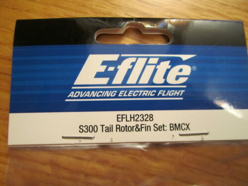 E-FLITE S300 TAIL ROTOR AND FIN SET BMCX EFLH2328