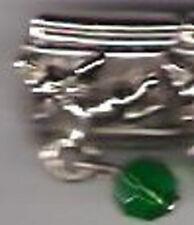 1 Angel Dangle Birthstone May 9MM Stainless Steel Italian Charm