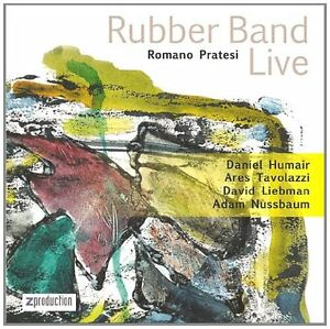 RUBBER-BAND-LIVE-ROMANO-PRATESI-2009-CD-NEUF-NEW-NEU