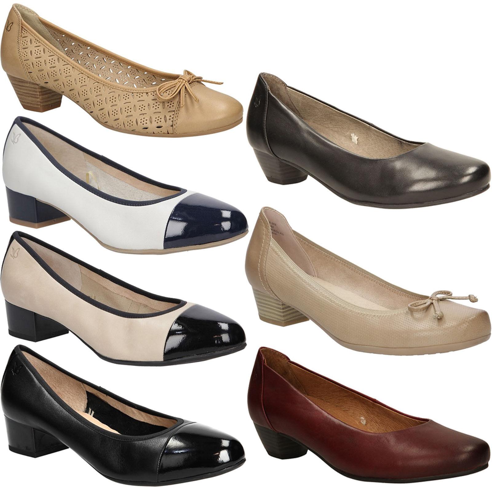 Damen Schuhe Gr.36-42 Pumps Caprice Slipper Halbschuhe Komfortable Elegant Gr.36-42 Schuhe NEU a2389b
