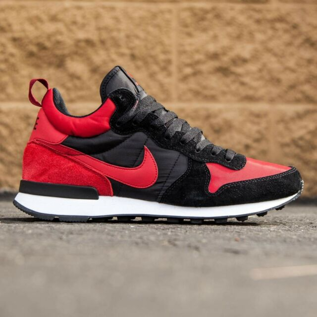 official photos d63c7 9f8a3 Frequently bought together. Nike Internationalist Mid BANNED Bred Red Black air  jordan retro 1 Mens ...