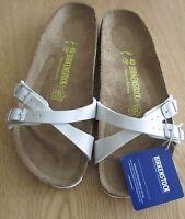 Birkenstock Almere Pearly White Women's Sandals. Uk7/ Eu 40.