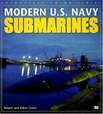 Modern U. S. Navy Submarines (Enthusiast Color)-ExLibrary