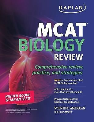 1 of 1 - Kaplan MCAT Biology Review
