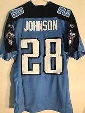 Reebok Premier NFL Jersey Titans Chris Johnson Light Blue sz M