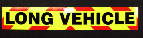 Long Vehicle Fluorescent Self Adhesive Sticker medium (900mm)
