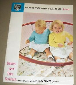 Vintage-Fairknit-Babies-and-Tots-Knitting-Book-No-30-1951