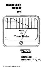 Eico 625 Tube Tester Construction Manual