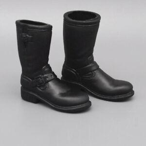 "1//6 Scale Men/'s solid Cowboy Boots Shoes Model for 12/"" Male Action Figure"
