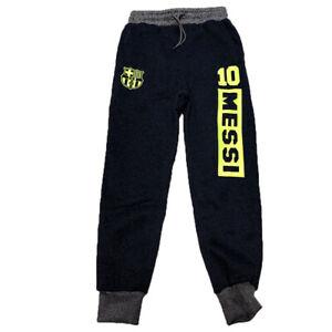 Fc Barcelona Messi 10 Pants Dark Blue Neon Green Ebay