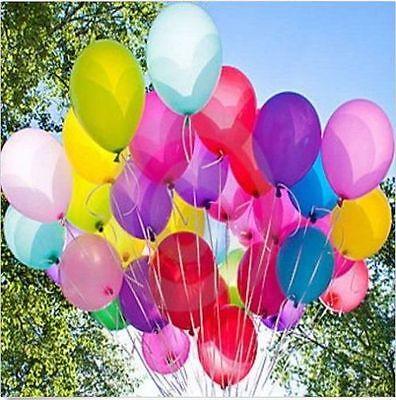 "100pcs 10"" wholesale Latex Helium Ballons Wedding Party Birthday Decoration"