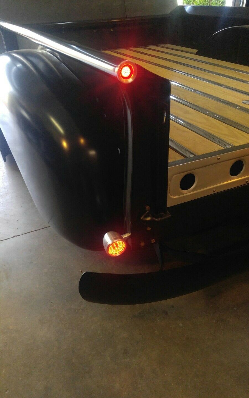 Gmc,Ford,Dodge 308-N Natural L.E.D Billet Bed roll led lights for 3100 Chevy