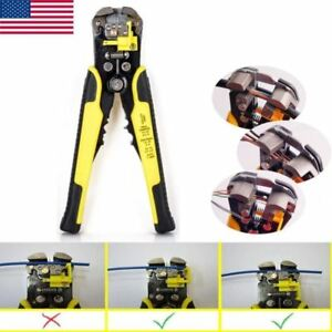 Professional Automatic Wire Terminal Striper Cutter Crimper Plier Electric Tool