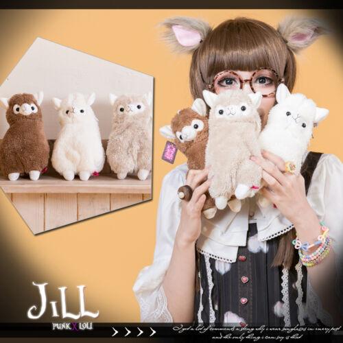 cartoon Lolita Fantasy Llama Pygmy marshmallow plushy stuffed purse JMA4016
