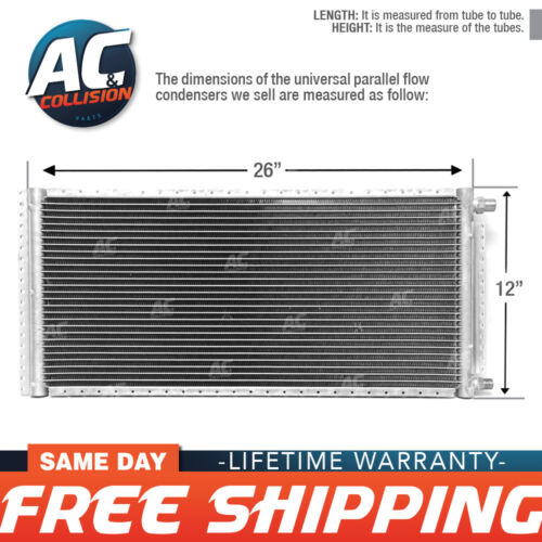 CNFP1226 AC A//C  Universal Condenser Parallel Flow 12 x 26 O-ring #6 And #8