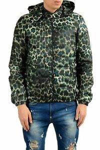 Just-Cavalli-Men-039-s-Insulated-Full-Zip-Hooded-Reversible-Parka-Jacket-US-S-IT-48
