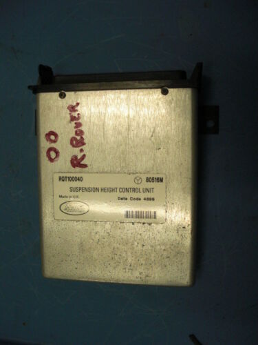 1995-96-97-98-2002 LAND ROVER RANGE ROVER SUSPENSION CONTROL MODULE  RQT100040