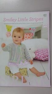 Sirdar-Book-403-Smiley-Little-Stripes-0-to-7-Years-13-Designs-in-Smiley-Stripes