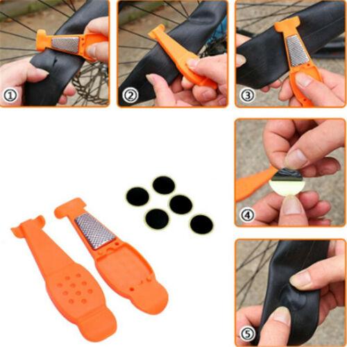 Bike Motobikes Tire Repair Tools Glue Tire Patch Bicycle Tire Repair Kits Sets