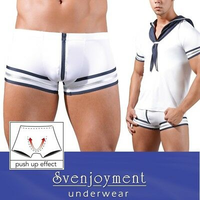 Svenj ultraweich Swell Hipster Pants Boxer con Front-ZIP S M L XL Retrò Line