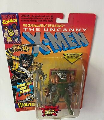 THE UNCANNY X-MEN WOLVERINE ACTION FIGURE 1993 TOY BIZ NEW