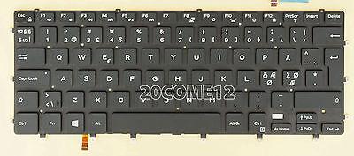 NEW for DELL Xps 15 L502x  Keyboard Nordic Scandinavian Danish No backlit