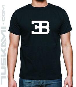T Shirt Camiseta Bugatti Car Logo Eb Veyron Ebay