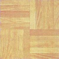 Wood Vinyl Floor Tile 20 Pcs Adhesive Kitchen Flooring - Actual 12'' X 12'' on sale