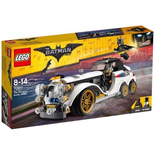 LEGO 70911 BATMAN MOVIE LA LIMOUSINE ARTICA DI THE PENGUIN NUOVO