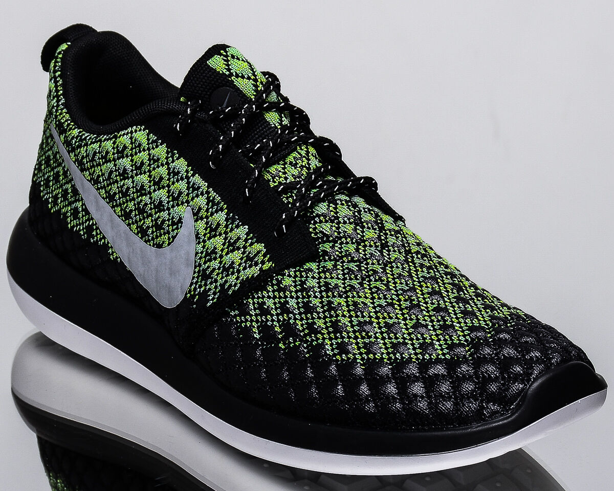 Nike Roshe Two lifestyle Flyknit 365 2 Hommes lifestyle Two Baskets NEW volt gris 859535-700 718c58