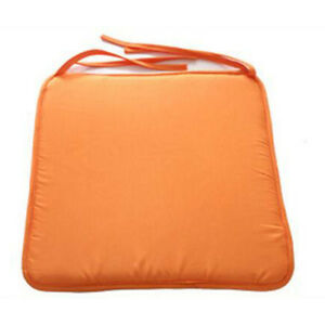 Dining kitchen garden chair cushion office patio seat pad home sofa decor orange ebay - Orange kitchen chair cushions ...