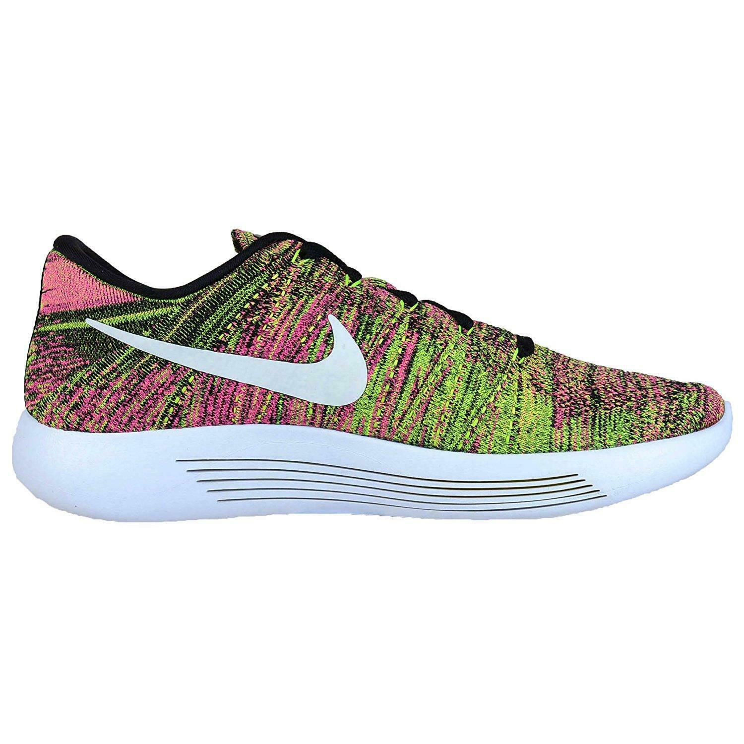 Mens NIKE LUNAREPIC LOW FLYKNIT OC Running Trainers 844862 999