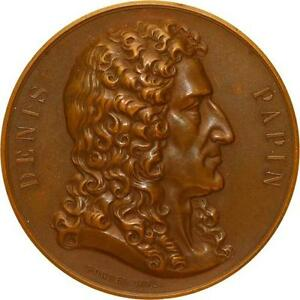 L5498-Medaille-Denis-Papin-Appareils-a-Vapeur-Nord-France-1873-1898-Borrel-1852